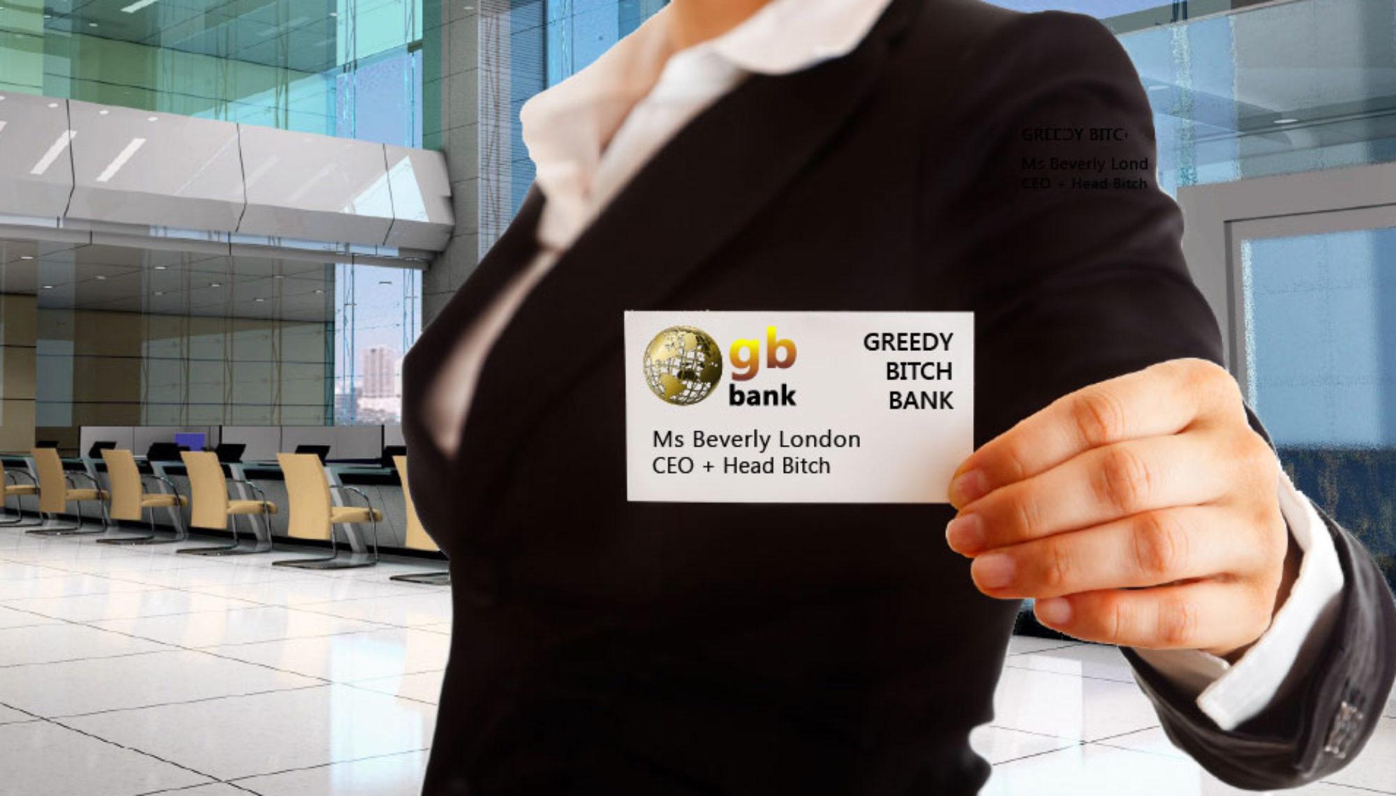 greedybitchbank.com